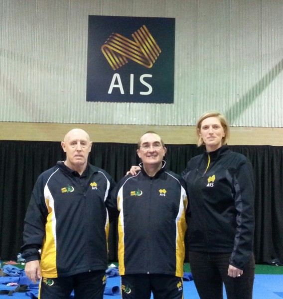 Dr Callan at the AIS, September 2015